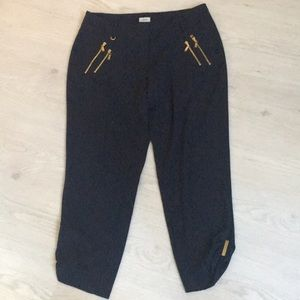Cache navy capri pants
